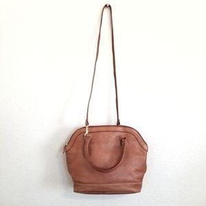 Vintage Partners by Mervyns Brown Leather Bag